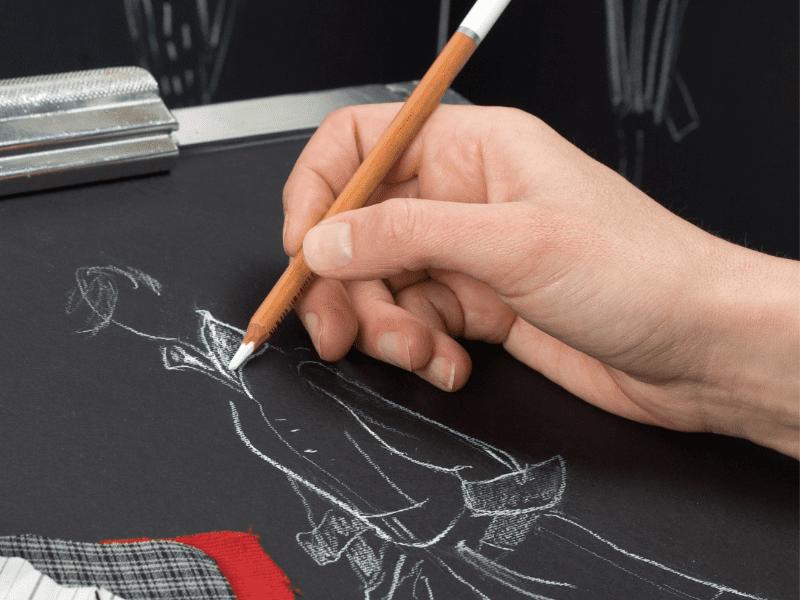 Someone Drawing